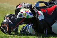 18.01.2013 Abu Dhabi HSBC Golf championship european tour, round 2, golf bag