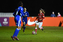 Loren Dykes of Bristol City Women - Mandatory by-line: Paul Knight/JMP - 28/03/2018 - FOOTBALL - Stoke Gifford Stadium - Bristol, England - Bristol City Women v Birmingham City Ladies - FA Women's Super League