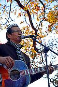 Alejandro Escovedo after performing in Austin Texas, December 6, 2008.