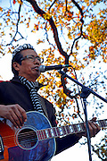 Alejandro Escovedo after performing in Austin Texas, December 6, 2008.
