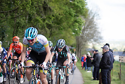 Elizabeth Banks (GBR) of Bigla Pro Cycling Team climbs on Stage 2 of 2019 Festival Elsy Jacobs, a 111.1 km road race starting and finishing in Garnich, Luxembourg on May 12, 2019. Photo by Balint Hamvas/velofocus.com
