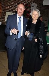 VISCOUNT & VISCOUNTESS MONTGOMERY OF ALAMAIN at the annual Parliamentary Palace of Varieties in aid of Macmillan Cancer Relief at St.Johns, Smith Square, London on 2nd February 2006. <br /><br />NON EXCLUSIVE - WORLD RIGHTS