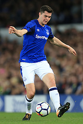 17th August 2017 - UEFA Europa League - Play-Off (1st Leg) - Everton v Hajduk Split - Michael Keane of Everton - Photo: Simon Stacpoole / Offside.