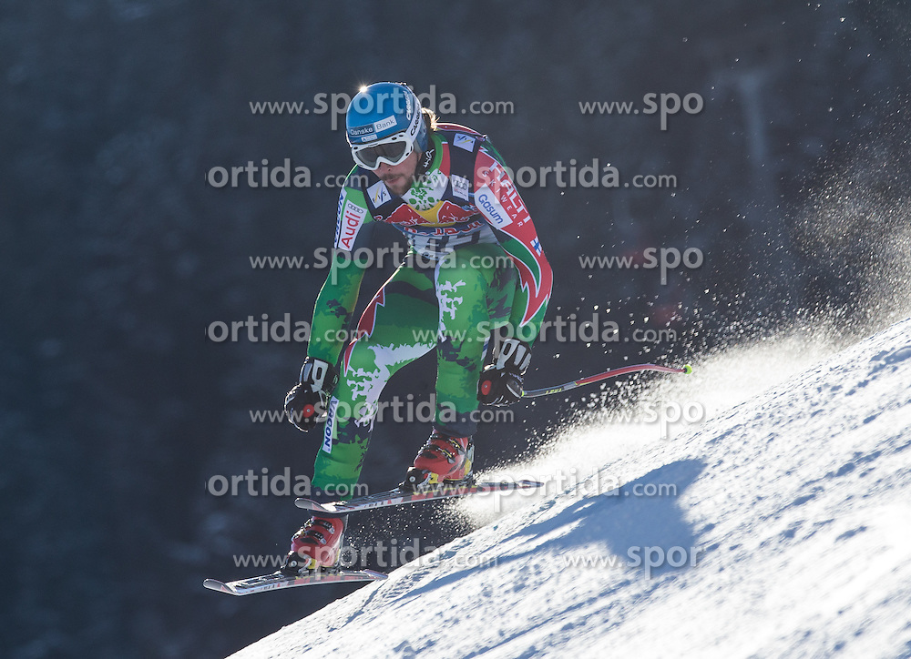 23.01.2013, Streif, Kitzbuehel, AUT, FIS Weltcup Ski Alpin, Abfahrt, Herren, 2. Training, im Bild Andreas Romar (FIN) // Andreas Romar of Finland in action during 2nd practice of mens Downhill of the FIS Ski Alpine World Cup at the Streif course, Kitzbuehel, Austria on 2013/01/23. EXPA Pictures © 2013, PhotoCredit: EXPA/ Johann Groder