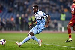 March 2, 2019 - Rome, Rome, Italy - Felipe Caicedo of SS Lazio scores first goal during the Serie A match between Lazio and Roma at Stadio Olimpico, Rome, Italy on 2 March 2019. (Credit Image: © Giuseppe Maffia/NurPhoto via ZUMA Press)