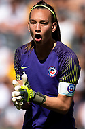 SYDNEY, AUSTRALIA - NOVEMBER 09: Christiane Endler of Chile during the International friendly soccer match between Matildas and Chile on November 09, 2019 at Bankwest Stadium in Sydney, Australia. (Photo by Speed Media/Icon Sportswire)