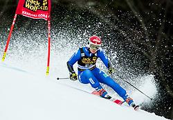 "Irene Curtoni (ITA) competes during 1st Run of the FIS Alpine Ski World Cup 2017/18 5th Ladies' Giant Slalom race named ""Golden Fox 2018"", on January 6, 2018 in Podkoren, Kranjska Gora, Slovenia. Photo by Ziga Zupan / Sportida"