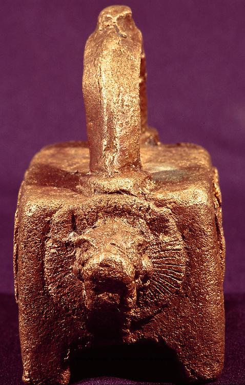 Copper Lion weight from Qaryat al-Fau, National Museum Saudi Arabia.