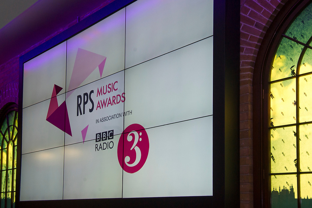 Rehearsals at The Brewery, London for <br /> the Royal Philharmonic Society Music Awards, Wednesday 9 May<br /> Photo credit required:  Simon Jay Price<br /> www.rpsmusicawards.com  #RPSMusicAwards