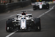 May 23-27, 2018: Monaco Grand Prix. Marcus Ericsson, Sauber F1 Team, C37