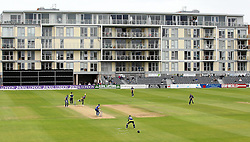 A general view of The County Ground at Bristol - Mandatory by-line: Robbie Stephenson/JMP - 07966386802 - 04/08/2015 - SPORT - CRICKET - Bristol,England - County Ground - Gloucestershire v Durham - Royal London One-Day Cup
