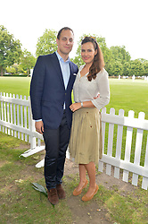 LORD & LADY FREDERICK WINDSOR at the Flannels for Heroes Cricket tournament in association with Dockers in aid of the charities Walking With The Wounded, On Course Foundation and Combat Stress held at Burton Court, London on 20th June 2014.