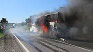 Bus on way to Anzac Day catches fire in Turkey 25 April 2018