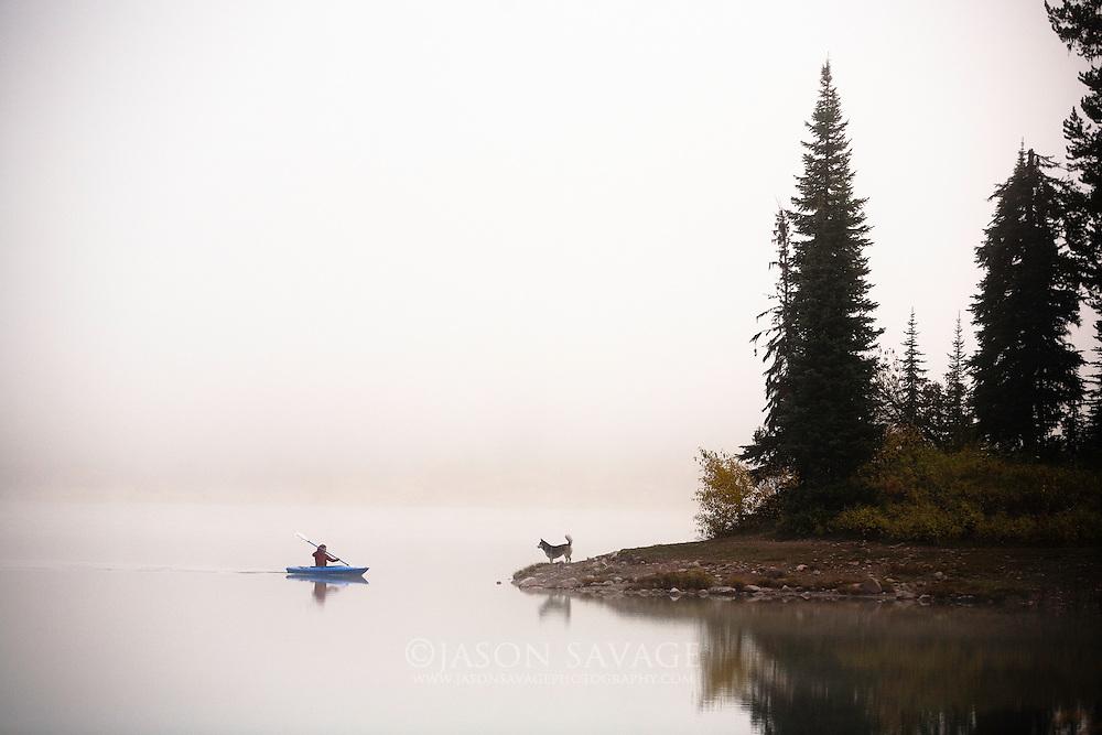 Rainy Lake, Montana.