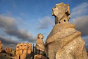 """Antoni Gaudi's """"La Pedrera"""" or Casa Milo"""