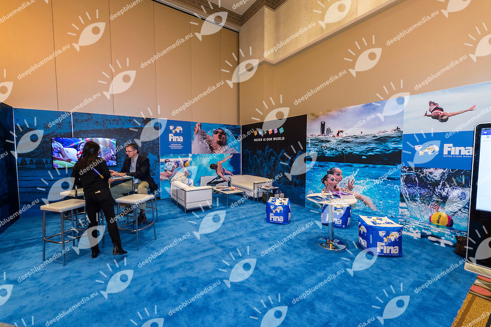 Fina<br /> FINA 4th World Aquatics Convention<br /> Exibition Windsor  Dec. 3rd, 2016<br /> Caesar's Casino - Windsor Ontario Canada CAN <br /> 20161203 Caesar's Casino - Windsor Ontario Canada CAN <br /> Photo &copy; Giorgio Scala/Deepbluemedia/Insidefoto