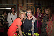 RACHEL JOHNSON; CHARLOTTE JOHNSON WAHL, Rachel Johnson book launch of Fresh Hell, Acklam Village Market, Acklam Rd. London W10.