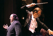 Italian opera tenor Luciano Pavarotti fulfilled a promise he had made years earlier to sing at the opening night of the Detroit Opera House, if they were ever able to restore the fabled landmark.