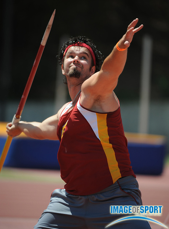 May 3, 2008; Los Angeles, CA, USA: Jekabs Sliede of Southern California was fourth in the javelin at 146-0 (44.51m) in dual meet against UCLA at Drake Stadium.