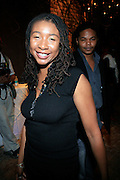 "Raquiah Mays at the Alica Keys "" As I am"" celebration wrap party at Park on June 18, 2008"