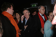 Ian McEwan, Opening night of Mary Poppins at the Prince Edward Theatre and party afterwards at 1 Leicester Sq. 15 December 2004. SUPPLIED FOR ONE-TIME USE ONLY> DO NOT ARCHIVE. © Copyright Photograph by Dafydd Jones 66 Stockwell Park Rd. London SW9 0DA Tel 020 7733 0108 www.dafjones.com