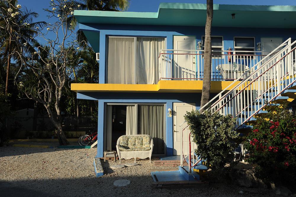 La Jolla Resort. Original-50er-Jahre-Anlage, Islamorada, Florida Keys..Florida 2009..Foto © Stefan Falke.