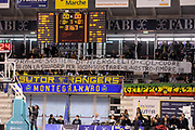 DESCRIZIONE : Ancona Lega A 2012-13 Sutor Montegranaro Angelico Biella<br /> GIOCATORE : tifosi<br /> CATEGORIA : curva tifosi strisscione<br /> SQUADRA : Sutor Montegranaro<br /> EVENTO : Campionato Lega A 2012-2013 <br /> GARA : Sutor Montegranaro Angelico Biella<br /> DATA : 02/12/2012<br /> SPORT : Pallacanestro <br /> AUTORE : Agenzia Ciamillo-Castoria/C.De Massis<br /> Galleria : Lega Basket A 2012-2013  <br /> Fotonotizia : Ancona Lega A 2012-13 Sutor Montegranaro Angelico Biella<br /> Predefinita :