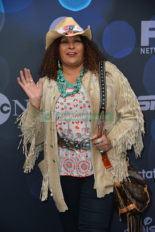 May 14, 2019 - New York, NY, USA - May 14, 2019  New York City..Pam Grier attending Walt Disney Television Upfront presentation party arrivals at Tavern on the Green on May 14, 2019 in New York City. (Credit Image: © Kristin Callahan/Ace Pictures via ZUMA Press)