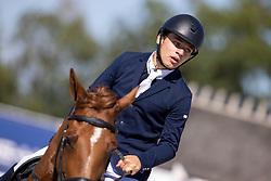 Guisson Tristan, BEL, Naturelle vh Legitahof Z<br /> Belgisch Kampioenschap Jeugd Azelhof - Lier 2020<br /> <br /> © Hippo Foto - Dirk Caremans<br /> 30/07/2020
