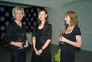 Juliette Maury, Keely Cameron and Helen Ball, The Mont Blanc de la Couture award at the Louise T Blouin Institute. Olaf St. London. 16 April 2008.  *** Local Caption *** -DO NOT ARCHIVE-© Copyright Photograph by Dafydd Jones. 248 Clapham Rd. London SW9 0PZ. Tel 0207 820 0771. www.dafjones.com.