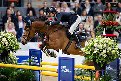MÄNDLI Beat (SUI), Dsarie<br /> Göteborg - Gothenburg Horse Show 2019 <br /> Gothenburg Trophy presented by VOLVO<br /> Int. jumping competition with jump-off (1.55 m)<br /> Longines FEI Jumping World Cup™ Final and FEI Dressage World Cup™ Final<br /> 06. April 2019<br /> © www.sportfotos-lafrentz.de/Stefan Lafrentz