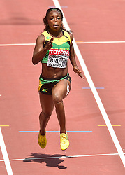 23-08-2015 CHN: IAAF World Championships Athletics day 2, Beijing<br /> Veronica CAMPBELL-BROWN JAM<br /> Photo by Ronald Hoogendoorn / Sportida