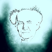 Digitally enhanced image of David Ben-Gurion (born David Grün); 16 October 1886 – 1 December 1973) was the primary national founder of the State of Israel and the first Prime Minister of Israel.