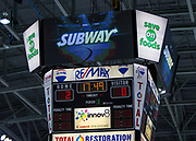 KELOWNA, CANADA - OCTOBER 04:  Subway Promotion at the Kelowna Rockets game on October 04, 2017 at Prospera Place in Kelowna, British Columbia, Canada.  (Photo By Cindy Rogers/Nyasa Photography,  *** Local Caption ***