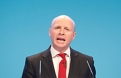 Labour Party Conference.<br /> Shadow Secretary of State for<br /> Work and Pensions Liam Byrne MP during the Labour Annual Conference at the Brighton Conference Centre, Brighton, United Kingdom. Monday, 23rd September 2013. Picture by Elliot Franks / i-Images