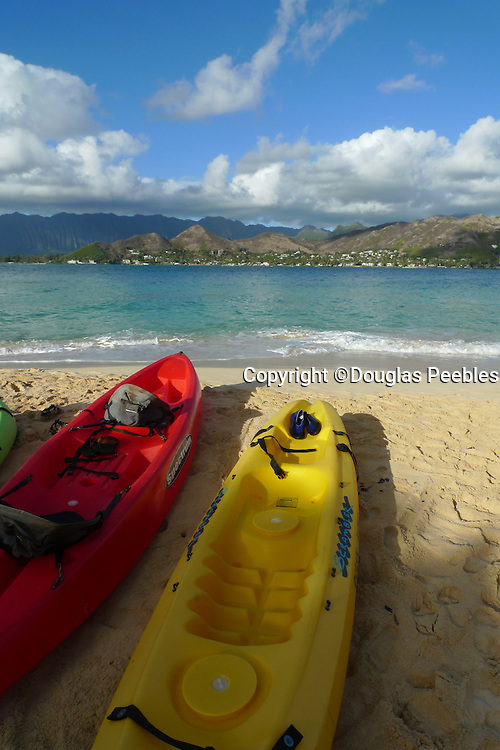 Kayak, Mokulua Island, Lanikai, Kailua, Oahu, hawaii
