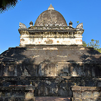 Stupa of the Great Lotus at Wat Visounnarath in Luang Prabang, Laos <br />