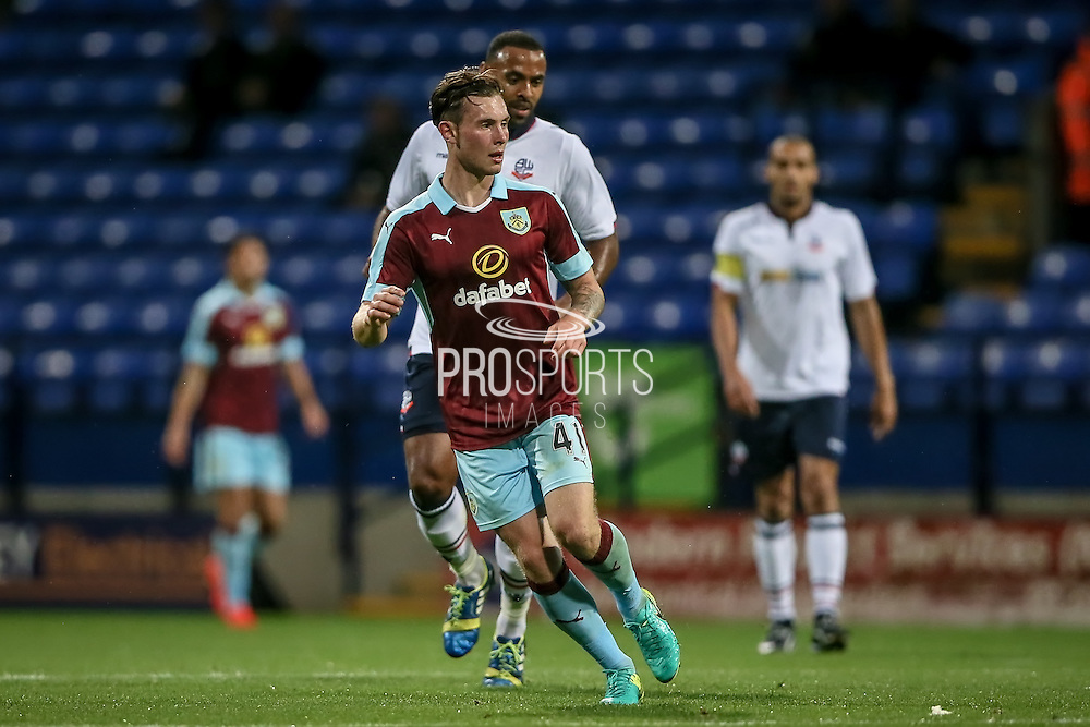 Aiden O'Neill (Burnley) during the Pre-Season Friendly match between Bolton Wanderers and Burnley at the Macron Stadium, Bolton, England on 26 July 2016. Photo by Mark P Doherty.
