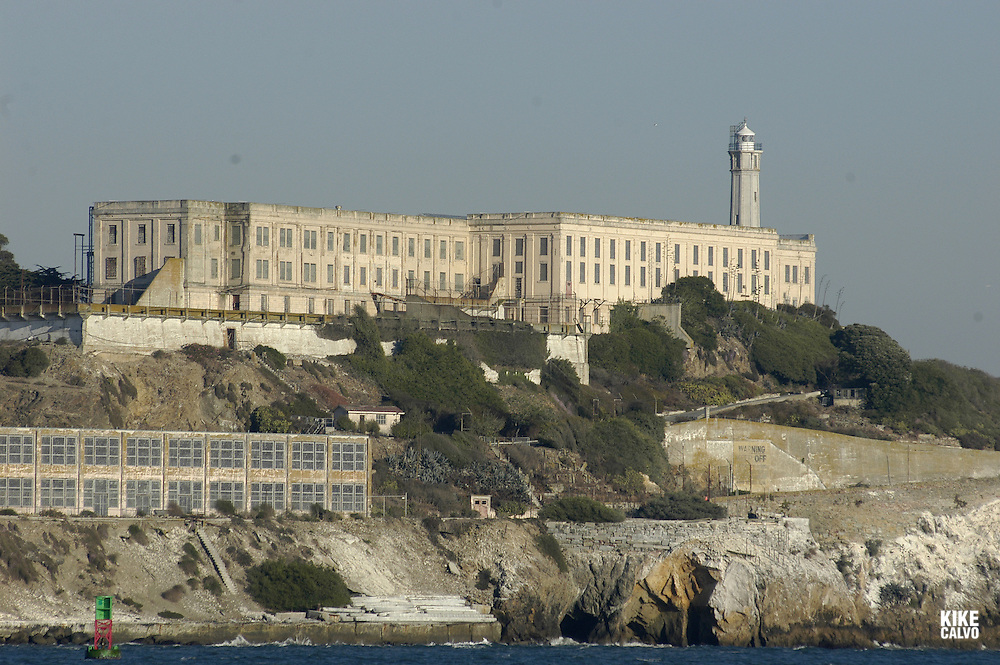 Alcatraz Prison. San Francisco Bay, California, United States.