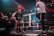 Sean Tolouee (tur) during the Muay Thai, Thai Boxing fight between Patrice Quarteron and Sean Tolouee on December 14, 2017 at AccorHotels Arena in Paris, France - Photo Pierre Charlier / ProSportsImages / DPPI