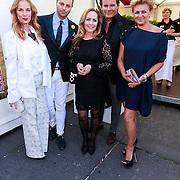 NLD/Amsterdam/20130601- Amsterdam diner 2013, Patty Zomer, Fred van Leer, Angela Groothuizen, Leco Zadelhoff, en Caroline Tensen