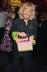 CAROL THATCHER at the Conservative Party's Black & White Ball held at Old Billingsgate, 16 Lower Thames Street, London EC3 on 8th February 2006.<br />