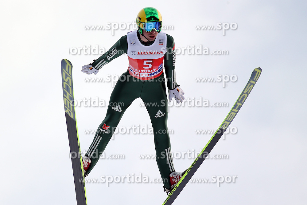 28.12.2013, Schattenbergschanze, Oberstdorf, GER, FIS Ski Sprung Weltcup, 62. Vierschanzentournee, Garmisch Partenkirchen, Bewerb, im Bild Daniel Wenig // Daniel Wenig during Competition of 62th Four Hills Tournament of FIS Ski Jumping World Cup at the at the Schattenbergschanze in Oberstdorf, Germany on 2013/12/28. EXPA Pictures &copy; 2014, PhotoCredit: EXPA/ Sammy Minkoff<br /> <br /> *****ATTENTION - OUT of GER*****