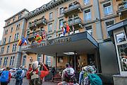 Meiringen, Switzerland, the Alps, Europe. For licensing options, please inquire.