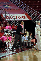 05 February 2016: Cathy Boswell. Illinois State University Women's Redbird Basketball team hosted the Sycamores of Indiana State for a Play4 Kay game at Redbird Arena in Normal Illinois.