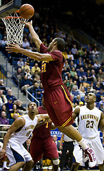 January 9, 2010; Berkeley, CA, USA;  Southern California Trojans guard Dwight Lewis (21) shoots against the California Golden Bears during the second half at the Haas Pavilion.  California defeated USC 67-59.