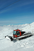 Israel, Hermon Mountain snowplough