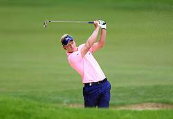 England's Luke Donald plays out of the bunker on the third hole during day three of the 2017 BMW PGA Championship at Wentworth Golf Club, Surrey. PRESS ASSOCIATION Photo. Picture date: Saturday May 27, 2017. See PA story GOLF Wentworth. Photo credit should read: Nigel French/PA Wire. RESTRICTIONS: Editorial use only. No commercial use.