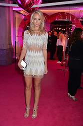 LADY VICTORIA HERVEY at The Naked Heart Foundation's Fabulous Fund Fair hosted by Natalia Vodianova and Karlie Kloss at Old Billingsgate Market, 1 Old Billingsgate Walk, London on 20th February 2016.