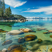 Secret Cove at Lake Tahoe.